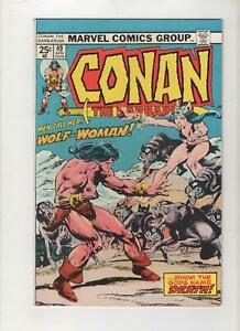 Conan the Barbarian #49, Mark Jewelers Variant, VF/NM 9.0, 1st Print, 1975,Scans