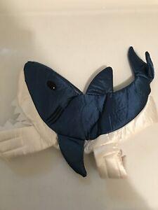 Halloween Dog Shark Costume Size Small