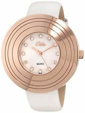 NEW Odin By Swistar 807-3L Womens Diamond MOP Rose Gold Plated Brass Dress Watch