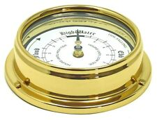 Tabic Solid Brass Tide Clock, with slight marked case @ 50% reduction