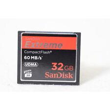 SanDisk CompactFlash Karte Extreme 60MB/s 32GB