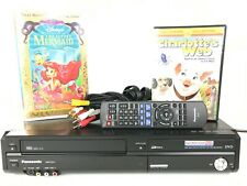 Panasonic DMR-EZ37V DVD Recorder VCR Combo Player 4Head VHS Copy Tested & Remote