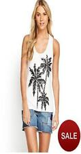 Very/South Embellished Sequin Sleeveless Top Vest 24 White/Black