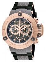 Invicta Men's Watch Subaqua Noma III Chronograph Grey Dial Strap 0932