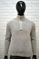 Maglione Cotone Uomo MARLBORO CLASSICS Taglia M Pullover Cardigan Sweater Man