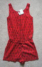 BNWT H&M Mono Corto Rojo Talla S (8-10)