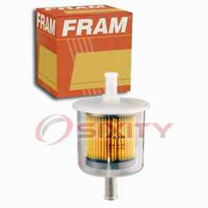 FRAM Fuel Filter for 1949-1951 Plymouth Deluxe Gas Pump Line Air Delivery ty
