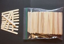 "200+ Pieces WOOD CRAFT POPSICLE STICKS  4-1/2"" x 3/8"""