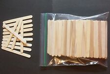 100+ PIECES WOOD CRAFT POPSICLE STICKS 4-1/2