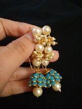 Indian Pachi Earrings/Indian Pearl Drop Earrings/Fashion Bollywood Earrings