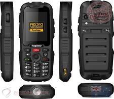 RugGear Supreme RG310 3G+ NEXTG Dual Sim Rugged Tough Waterproof Phone - Black