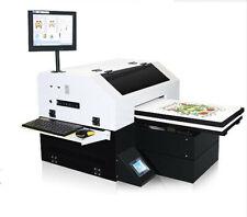 New Listinga3 Uv Flatbed T Shirt Cloth Printer Machine 8 Color Dtg Printer Customs Data Usa