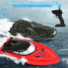 2.4G Remote Control 4 Channel Remote Control Electric Crocodile- Head RC Boat