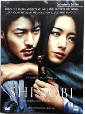 Dvd Shinobi - Collector's Edition 2 dischi digipack di Ten Shimoyama 2005 Usato