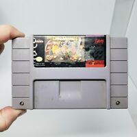 The Lost Vikings 1 Super Nintendo, SNES Authentic Tested Working Great Condition
