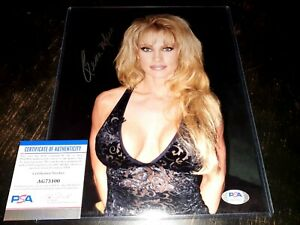Sable Signed WWE 8x10 Photo PSA/DNA COA Sexy Autograph Rena Mero Playboy Model