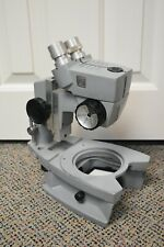 American Optical Stereo Microscope With Base - For Parts (A)