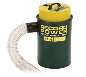 Record Power DX1000 Fine Filter 45 Litre Extractor - HPLV
