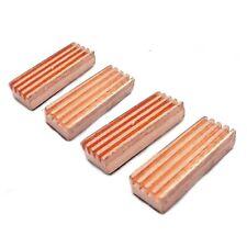 4 Stück VGA-RAM Kühler I Cooler 22x8MM →Kupfer, Selbstklebend I Heatsink,Copper