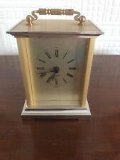 Great Vintage German Quartz Carriage Clock