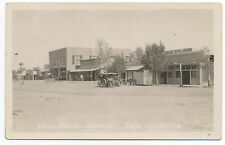 1920s RPPC Postcard of Main Street Scene w/ Autos in Mexicali Baja California