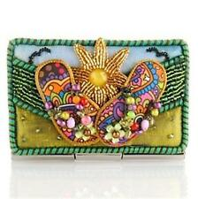 Mary Frances Embellished Sunny Days Card Holder NEW