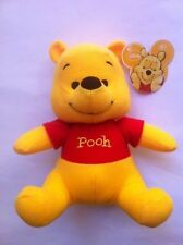 "Disney Pooh Plush Stuff Toy 7"" Sitting Age 2+ NEW"