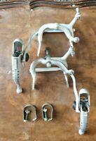 Vintage Altenburger Brillant side pull brake set plus levers racing bicycle bike