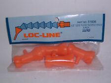 "Loc-Line 1/2"" Hose Side Flow (1/8"" Dia Hole) In-Line Nozzle 51836 NEW!!!"