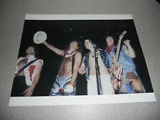 Van Halen Vintage Live 8x10 Group Photo #4 Eddie Dlr