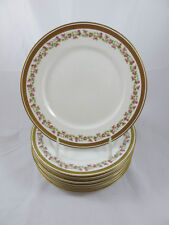Limoges Guerin Mark 3 1900-1932 Beautiful Lunch Plate Double Gold Rose Garland