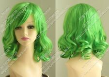 new green short curly full wig +gift TS695#