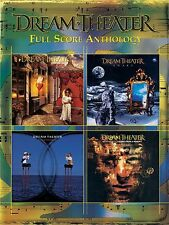Dream Theater Full Score Anthology Learn to Play Rock Pop Band Score Music Book