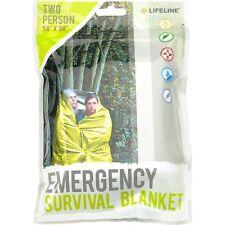LIFELINE 4257 Emergency Two Person Survival Blanket