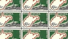 1963 - WEST VIRGINIA - #1232 Full Mint -MNH- Sheet of 50 Postage Stamps