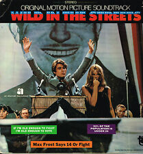 "LP 12"" 30cms: BO de film: wild in the streets. Barry Mann and Cynthia Weil.tower"