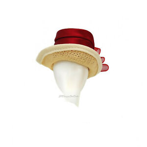 Barbie Straw Hat Red Ribbon DetailingAfter The Walk Coca Cola New