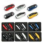 1Pcs/set Auto Car Remote Key Case Fob trim Covers For Porsche 911 Macan 2014-up