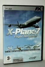 X-PLANE 7 FLIGHT SIMULATOR GIOCO USATO OTTIMO PC DVD VERSIONE ITALIANA GD1 47399