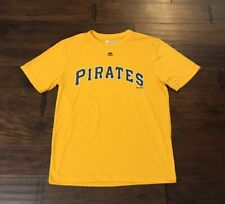 Majestic Men's Pittsburg Pirates CoolBase Baseball Jersey Sz. Medium NEW Bonds