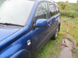 Toyota RAV4 MK2 wing mirror passenger left side 2000 - 2005 blue