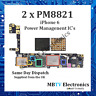 2 x PM8821 - iPhone 6 Small Power Management IC - Repair Overheating / Dead