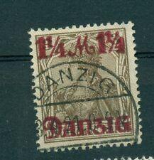 FREE CITY OF DANZIG - GERMANY 1920 1 1/4 M overprint