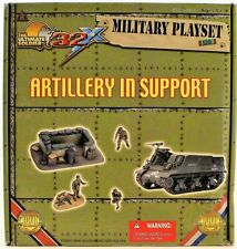 The Ultimate Soldier 1:32 Artillery In Support & Calais Channel Watch Play Set