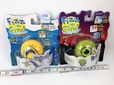 Wild Planet Toys Fizz n Surprise Figure Shark Monster Eyeball LOT Fizzy Dissolve
