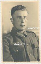 Portrait Foto Soldat Wehrmacht deutscher Landser  2.WK (h974)