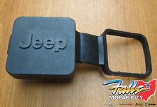 "Jeep 2"" Hitch Reciever Plug Wrangler Grand Cherokee Liberty Patriot Mopar OEM"