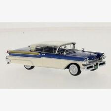 wonderful modelcar  MERCURY TURNPIKE CRUIZER HT 1957 - darkblue - 1/43 - ltd.