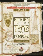 Return to the Tomb of Horrors (Advanced Dungeons & Dragons: Tomes), Cordell, Bru
