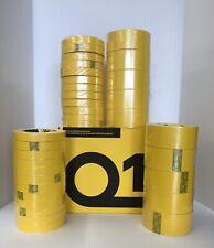 Premium Yellow Automotive Masking Tape (2 sleeves of 3/4